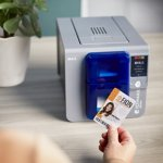 ID Maker Zenius Touch 1-Sided Badge Printer