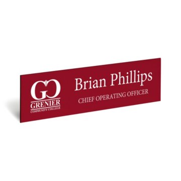 Engraved Nameplate Only