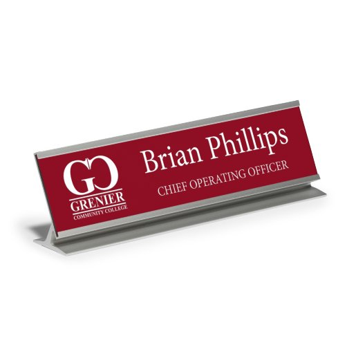 Desktop Engraved Nameplate