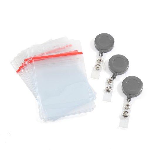 Solid Badge Reel and Badge Holder Bundle