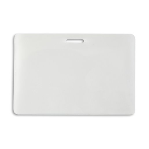 Laminate - Horizontal Slotted Business Card - 7 mil w/sleeve