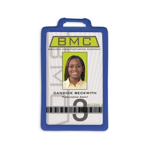 Silicone Vertical Badge Holders
