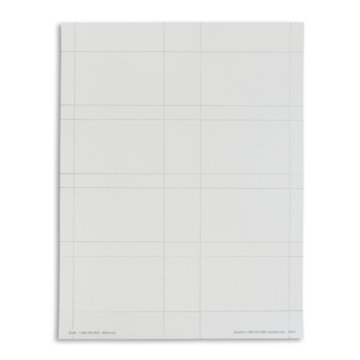Credit Card Size Blank Badge Stock