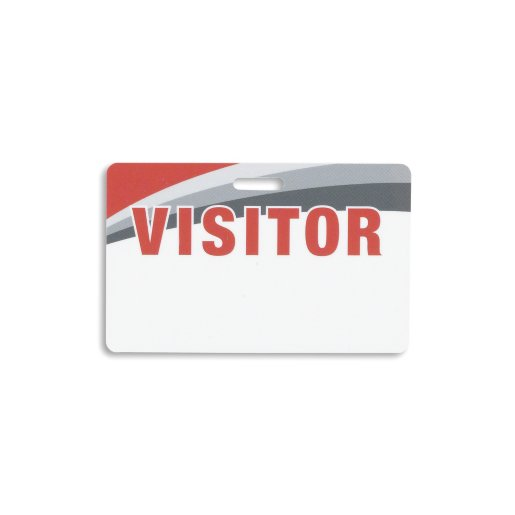 Re-Writable Visitor Card