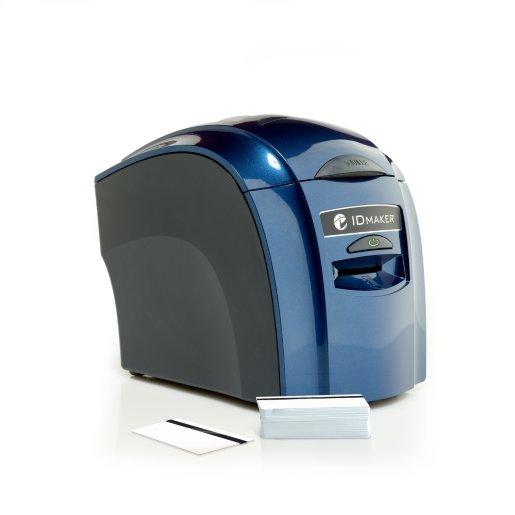 ID Maker Value 1-Sided Card Printer w/ Mag-Encoder