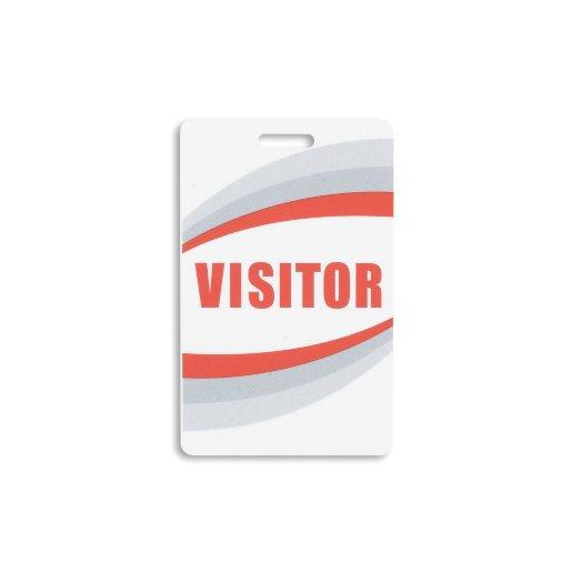 Visitor Preprinted Plastic Card