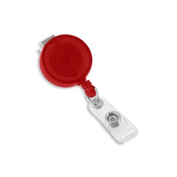 Round Translucent Badge Reel