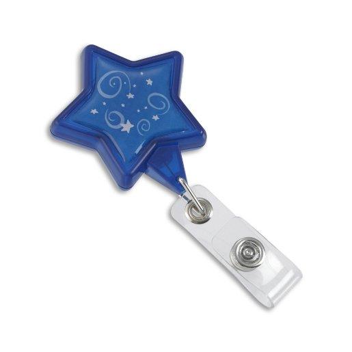 Blue Star Pre-Designed Badge Reel