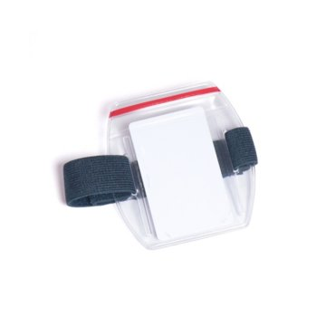 Armband Badge Holder - Resealable - Vertical