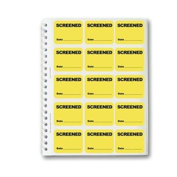 Badge Book - SCREENED - Yellow