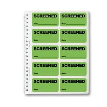 Badge Book - SCREENED - Green