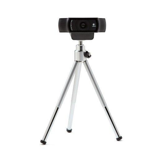 Logitech HD Pro Webcam C920 with Tripod