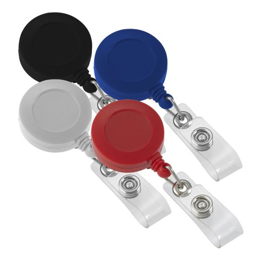 Round Solid Color Badge Reel Variety Pack