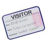 Visitor Pass Standard Login Book