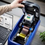 ID Maker Apex 2-Sided Card Printer with Smart Card Encoder
