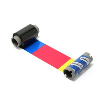 Fargo YMCKK Printer Ribbon 86202