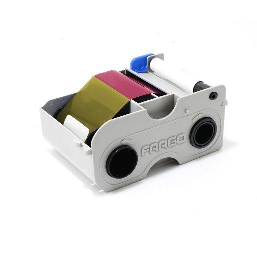 Fargo YMCKO Printer Ribbon 45000