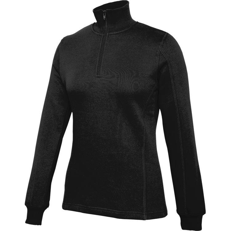 SportTek Ladies 1/4 Zip Fleece