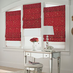 Custom Spencer Double Roman Shade - Sizes