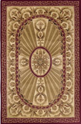 Superb Momeni® Elizabeth Hand Carved Wool Rectangular Rug