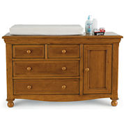 Bedford Baby Monterey Changing Table - Butternut