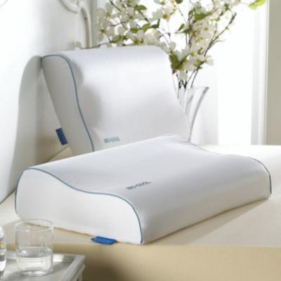 isotonic isocool memory foam contour pillow