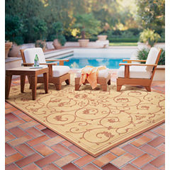 Couristan® Veranda Indoor/Outdoor Rectangular Rug