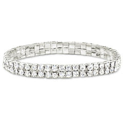 Vieste® Crystal Stretch Bracelet