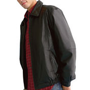 Excelled® Lambskin Leather Bomber Jacket