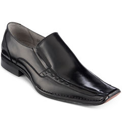 Stacy Adams® Templin Mens Bicycle Toe Leather Slip-On Dress Shoes