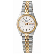 Pulsar® Womens Two-Tone Stainless Steel Watch PXX006