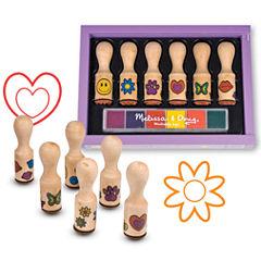 Melissa & Doug® Happy Handle Stamp Set