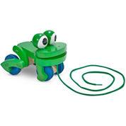 Melissa & Doug® Frolicking Frog Pull Toy