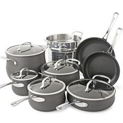 Cuisinart® Contour 13-pc. Hard-Anodized Cookware Set