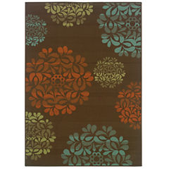 Covington Home Montego Nosegay Indoor/Outdoor Rectangular Rug