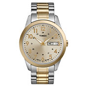 Timex® Mens Two-Tone Watch