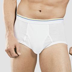 Stafford® 6-pk. Blended Cotton Full-Cut Briefs–Big & Tall