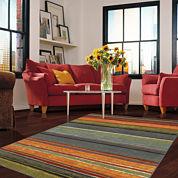 Mohawk Home® Rainbow Stripe Rectangular Rug