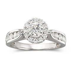 1 CT. T.W. Diamond Engagement Ring