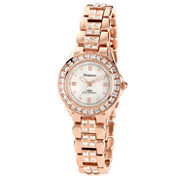 Armitron® Now® Womens Rose-Tone Dress Watch
