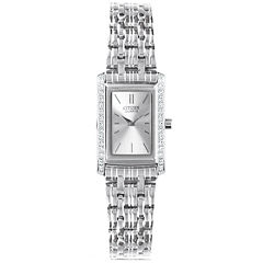 Citizen® Womens Silver-Tone Watch EK1120-55A