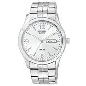 Citizen® Mens Silver-Tone Watch BK3830-51A