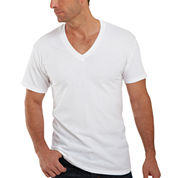 Hanes® 4-pk. ComfortBlend® Tagless V-Neck T-Shirt - Slim Fit