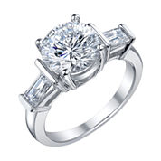 Diamonore™ 3 3/8 CT. T.W. Simulated Diamond Ring