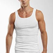 Hanes® 4-pk. Cotton Tagless Tank Undershirt