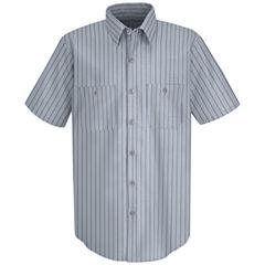 Red Kap SP20 Micro-Check Men's Uniform Shirt