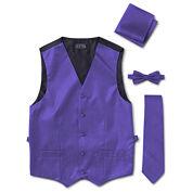 Tuxedo Vest 4-Piece Set
