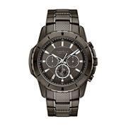 Caravelle, New York Mens Gray Bracelet Watch-45a139