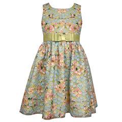 Bonnie Jean Sleeveless Skater Dress - Big Kid Girls