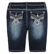 Revolution by Revolt™ Embellished Denim Shorts - Girls 7-16 and Plus